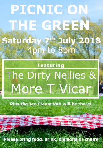 poster picnic on the green 2018