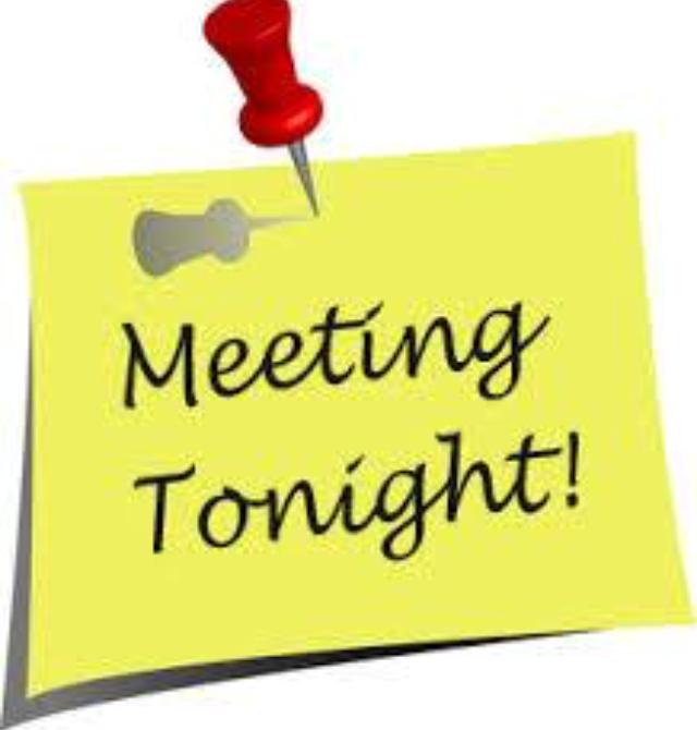 meeting tonight header