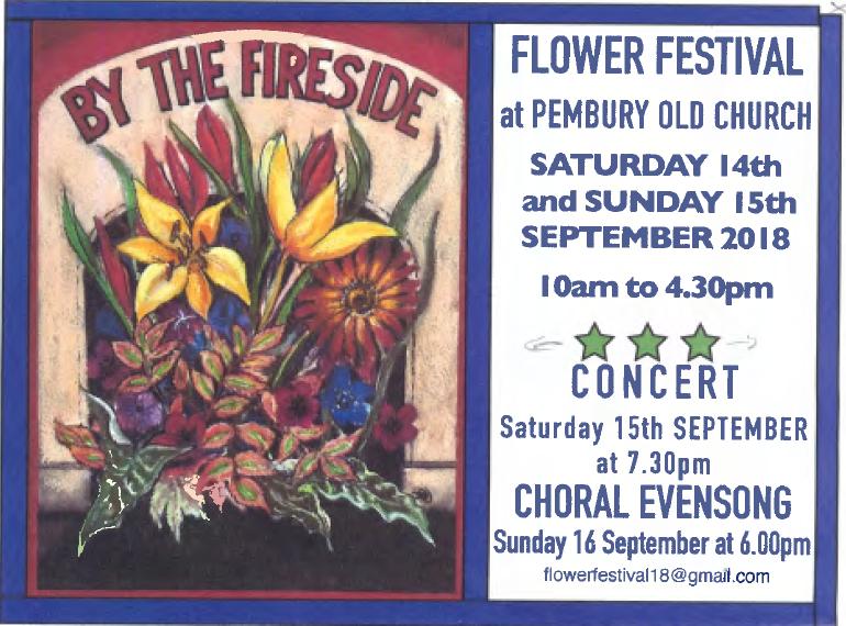 Flower festival 2018