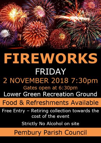 Fireworks poster 2018