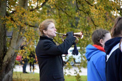 Bugler Remembrance day 2019