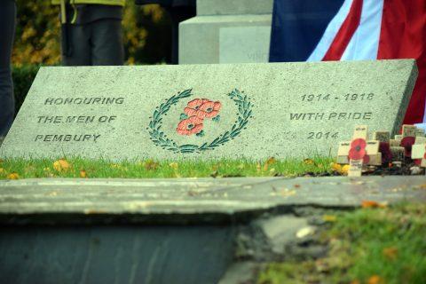war memorial pembury