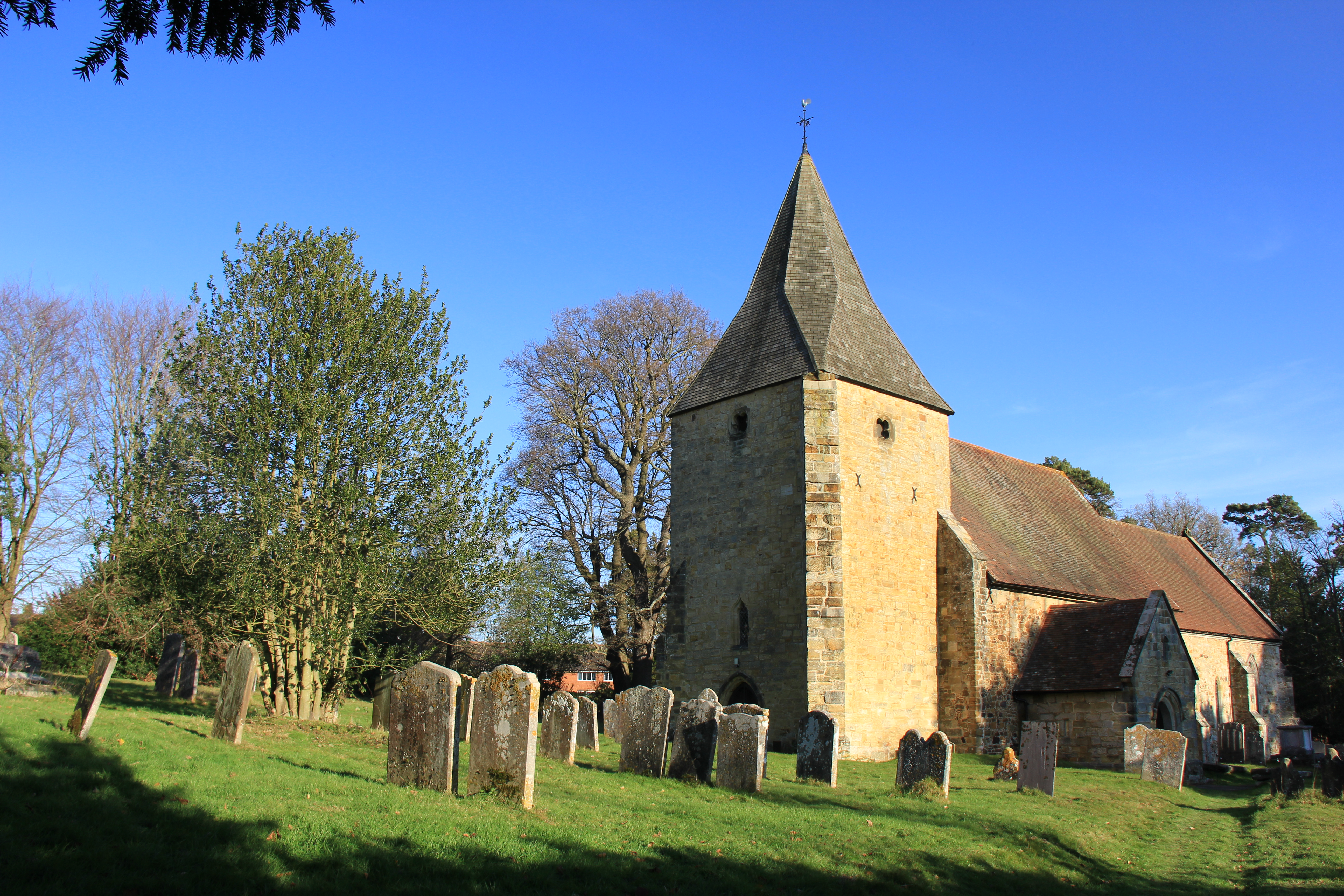 Old Church in the sunshine