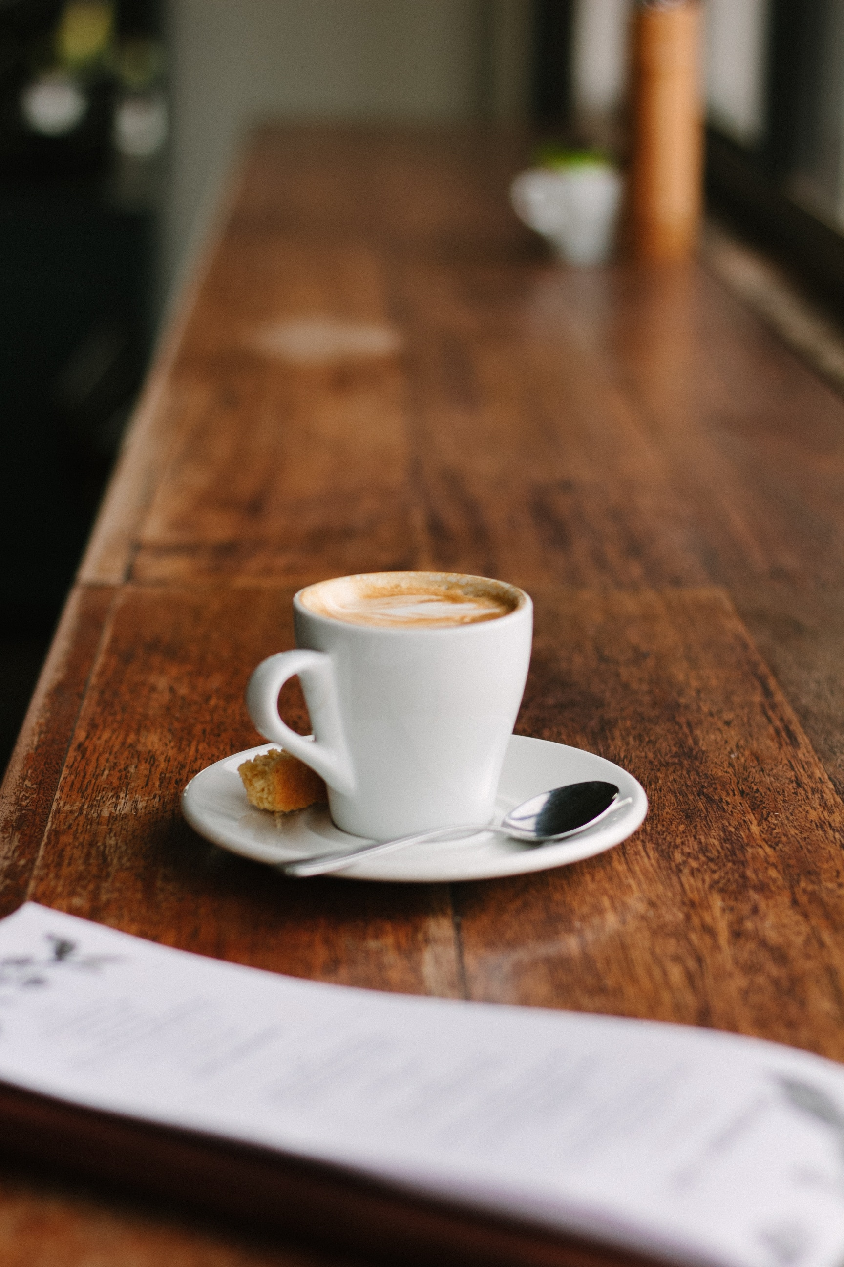 coffee cup in cafe