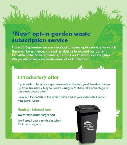 New Recycling and Waste Service Contract, Pembury Parish Council