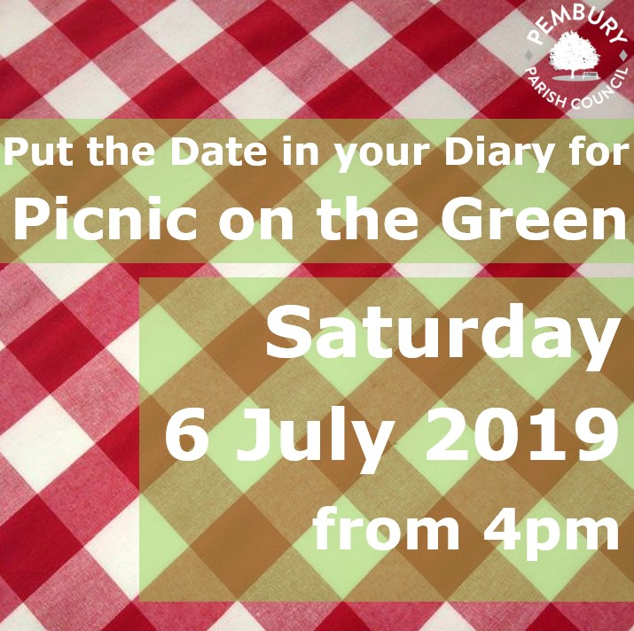 picnic on the green poster 2019