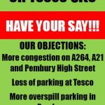 Pembury Parish Council objects to the Draft Local Plan, Pembury Parish Council