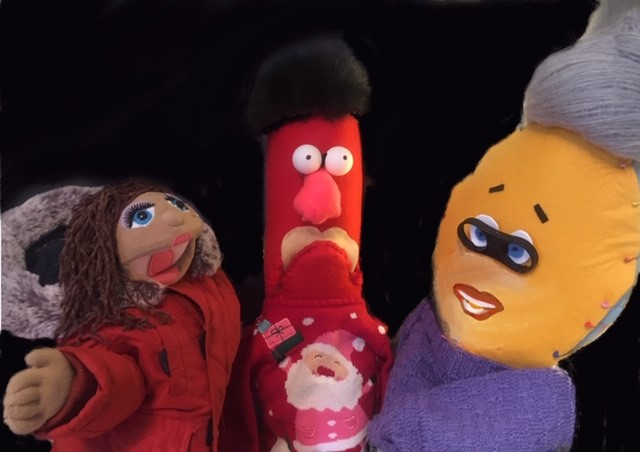 Photo of Puppet Theatre characters