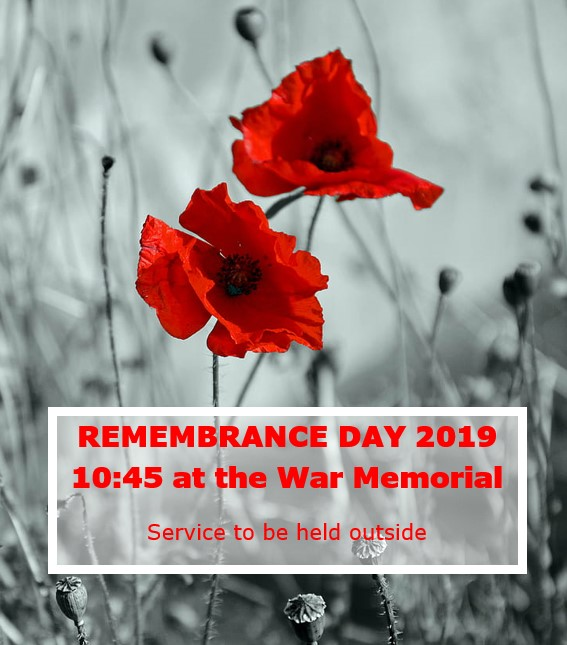Remembrance Day poster