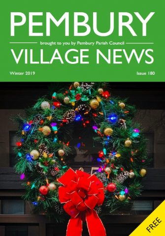 Front Cover of PVN Winter 2019