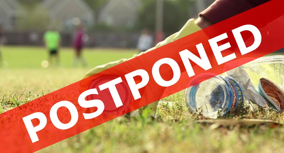 Litter pick postponed