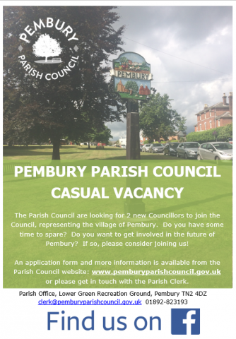 poster for councillor vacancy