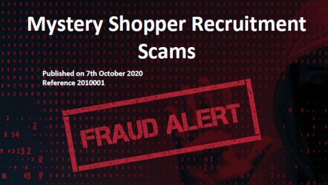 Mystery Shopper Recruitment Scam header