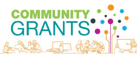 Community grants header